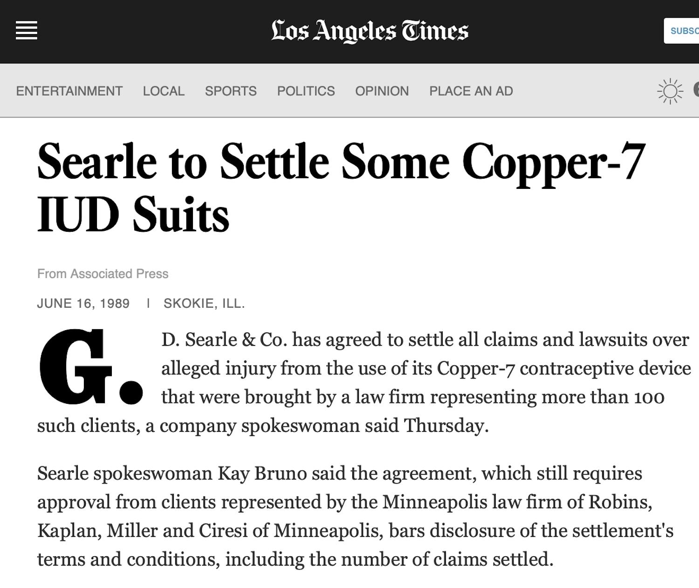 June 15, 1989 - LA Times