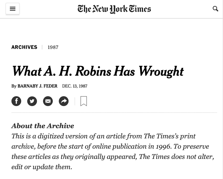 December 13, 1987 - New York Times