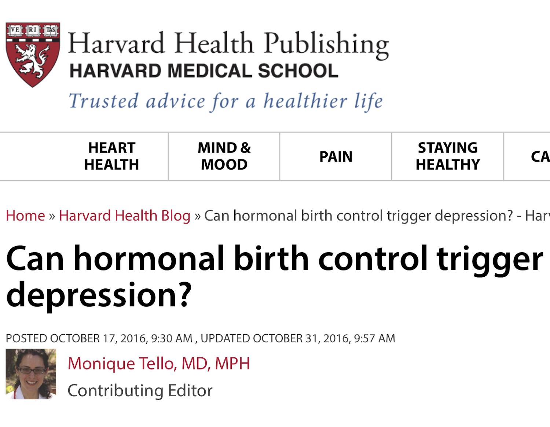 October 17, 2016 - Harvard Health Blog