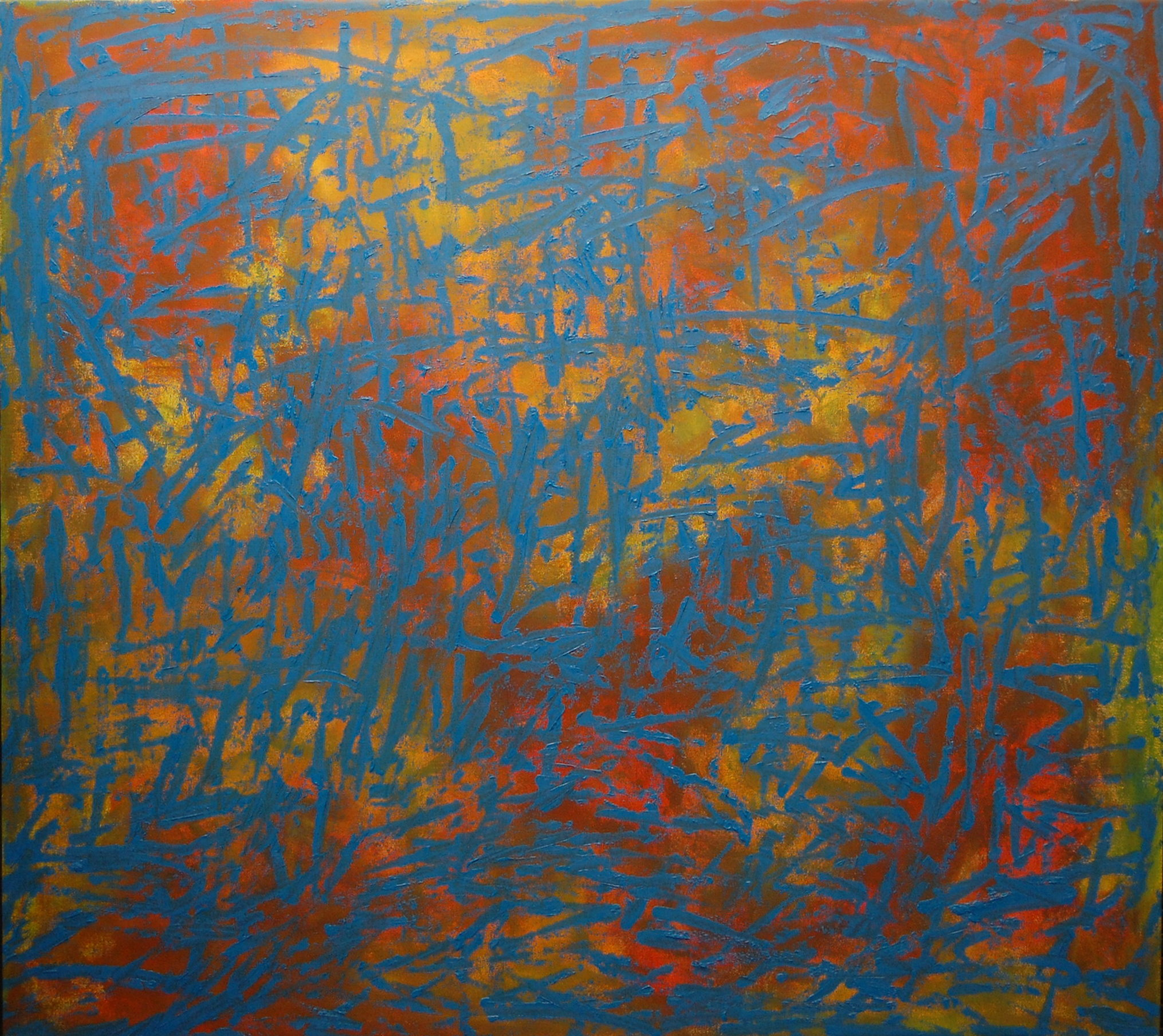 """What Is It That You Seek?"", Oil on Canvas, 44""x48"", SOLD"