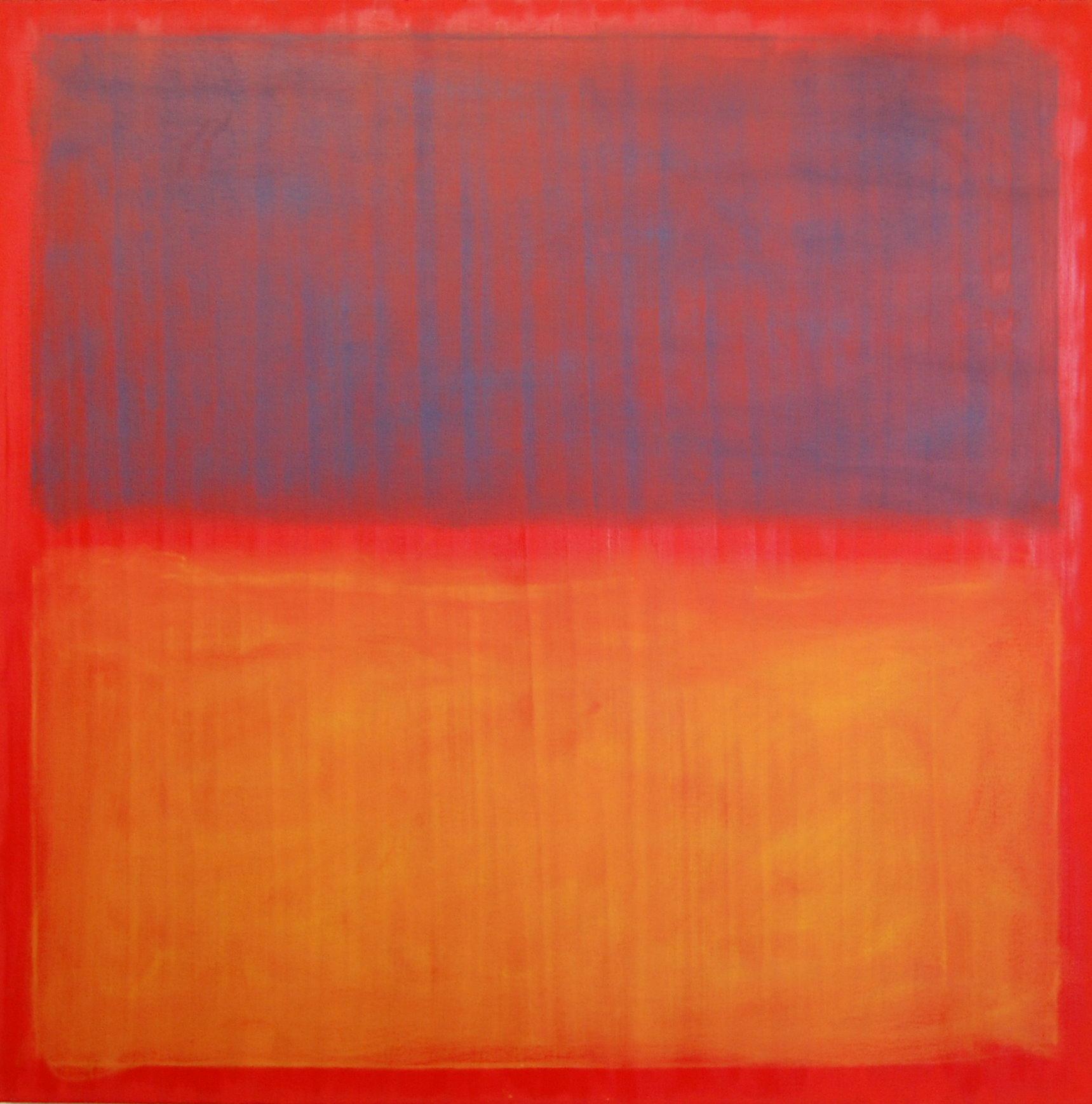 """Splitting The Atom"", Oil on Canvas, 36''x36''"