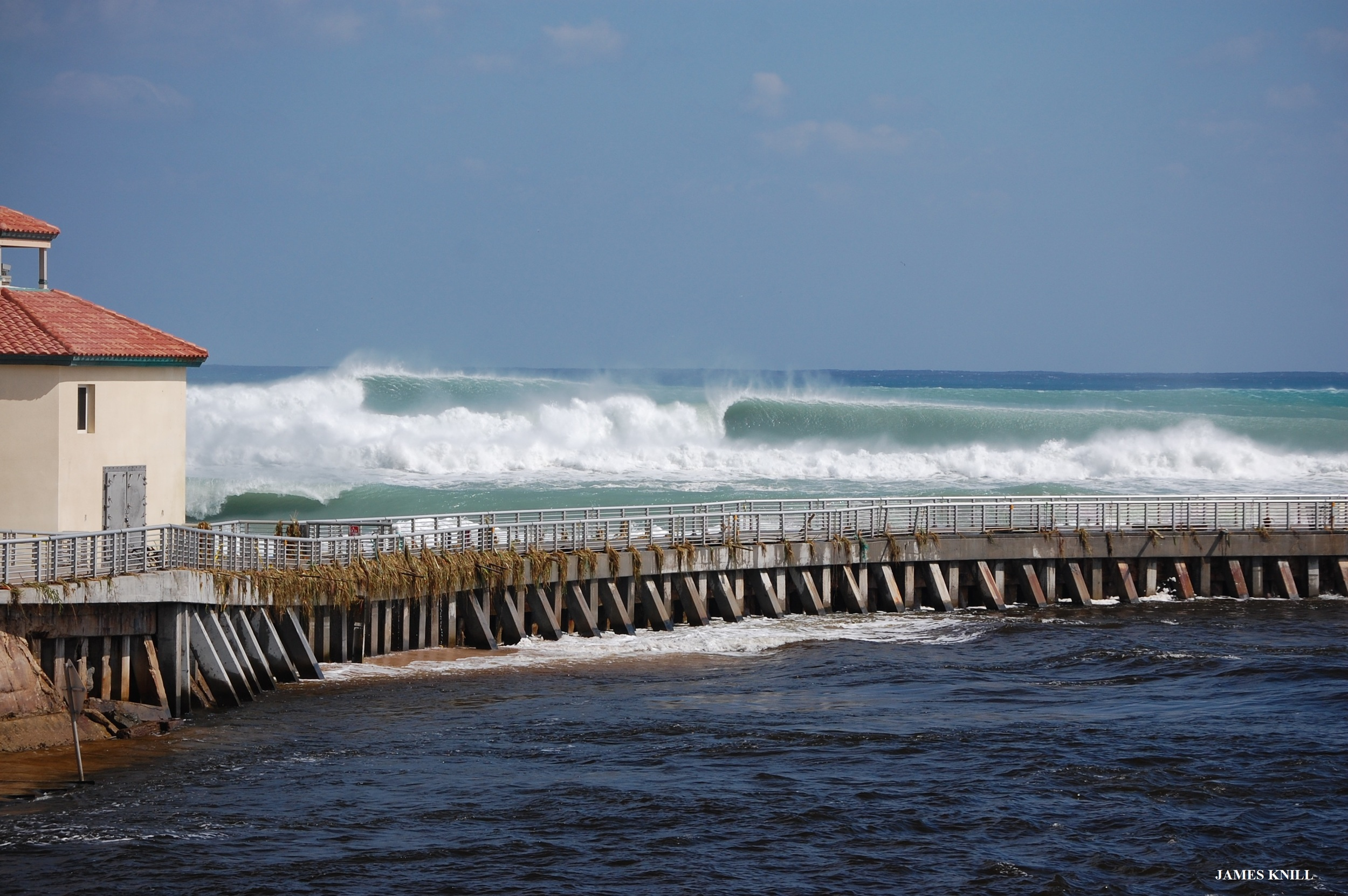 Lined Up Lefts. Photography by James Knill