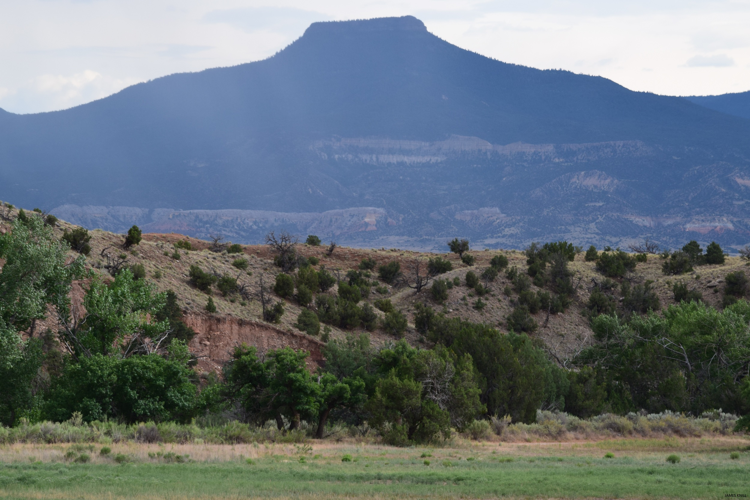 Georgia O'Keefe Mountainscape, New Mexico