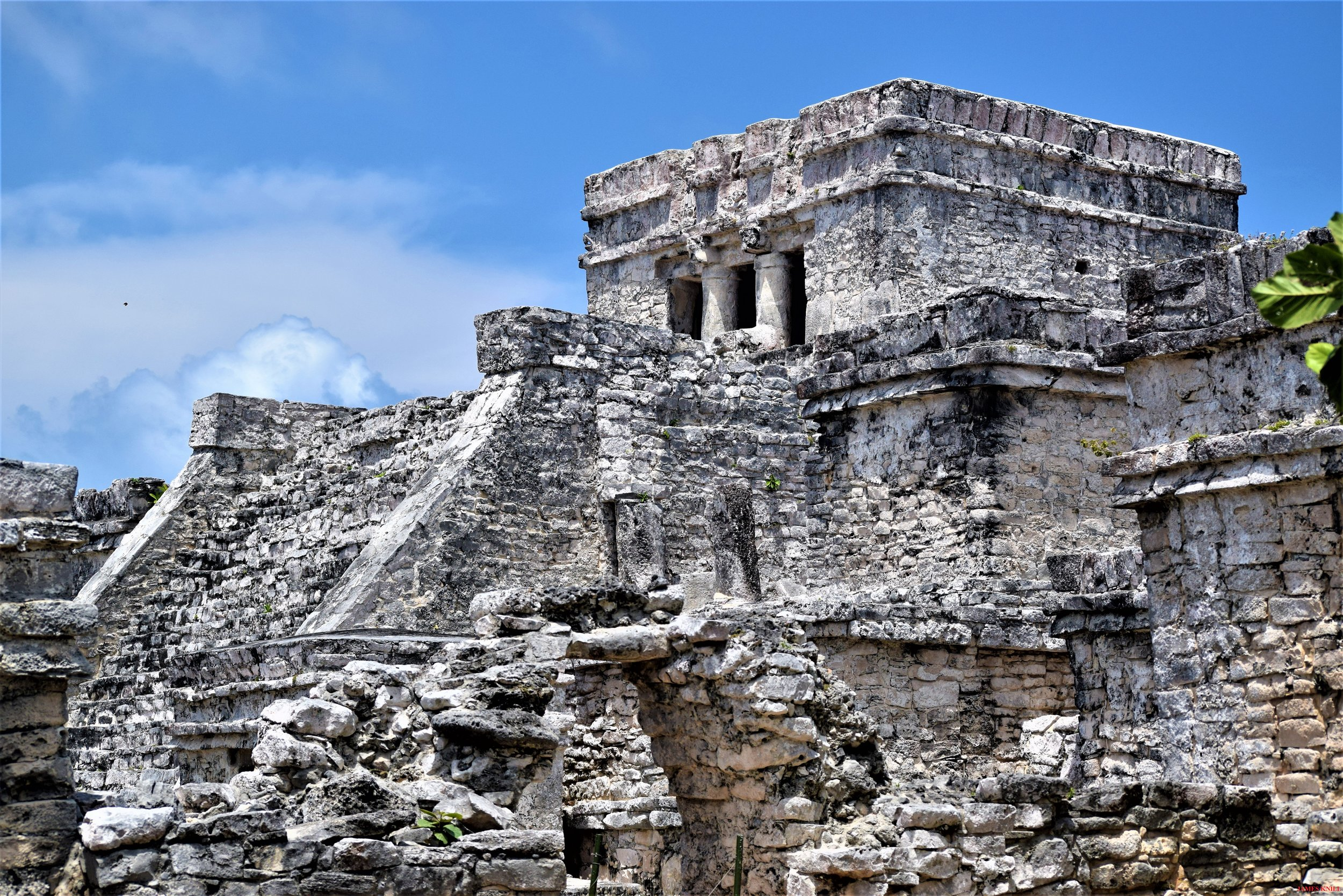 Tulum, Mexico. Maya Temple