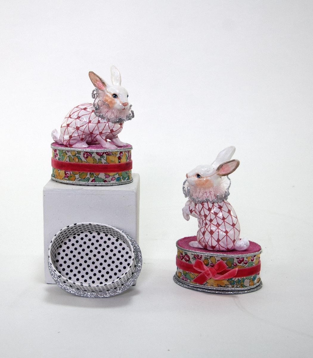 Rabbit Mint Box - Assortment Of 2  28-530622