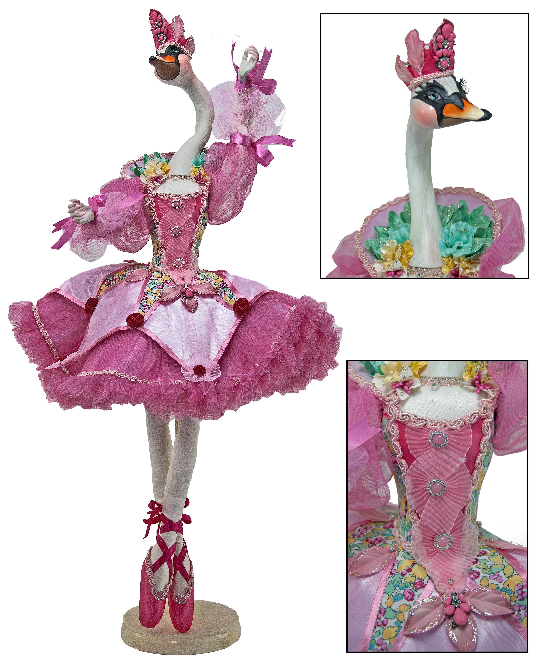 """Odette Bellefleur Swan Doll 36""""  11-540617"""