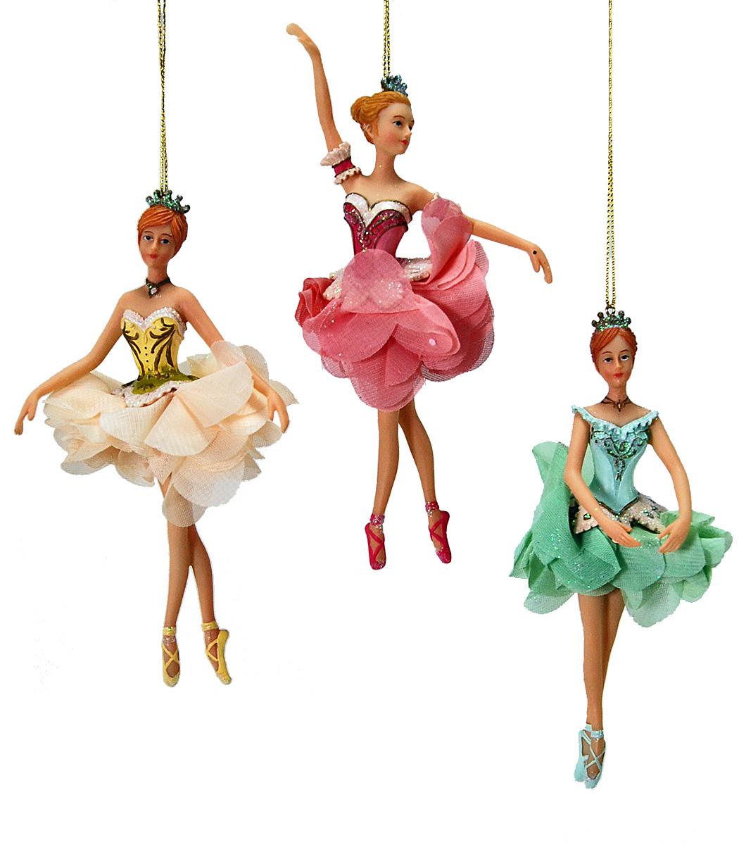 Pirouette Ballerina Ornament - Assortment Of 3  22-524708
