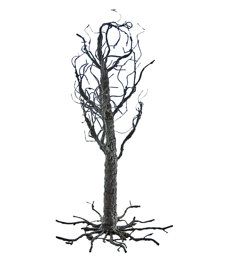 Black Twig Wire Tree - 24 inches