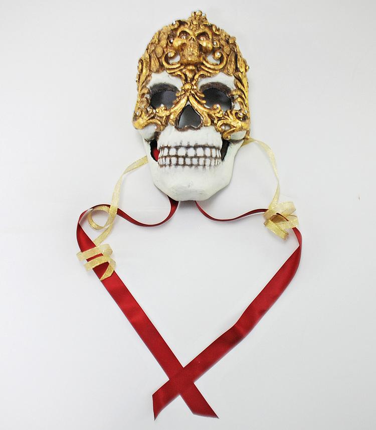 Baroque Skull Mask