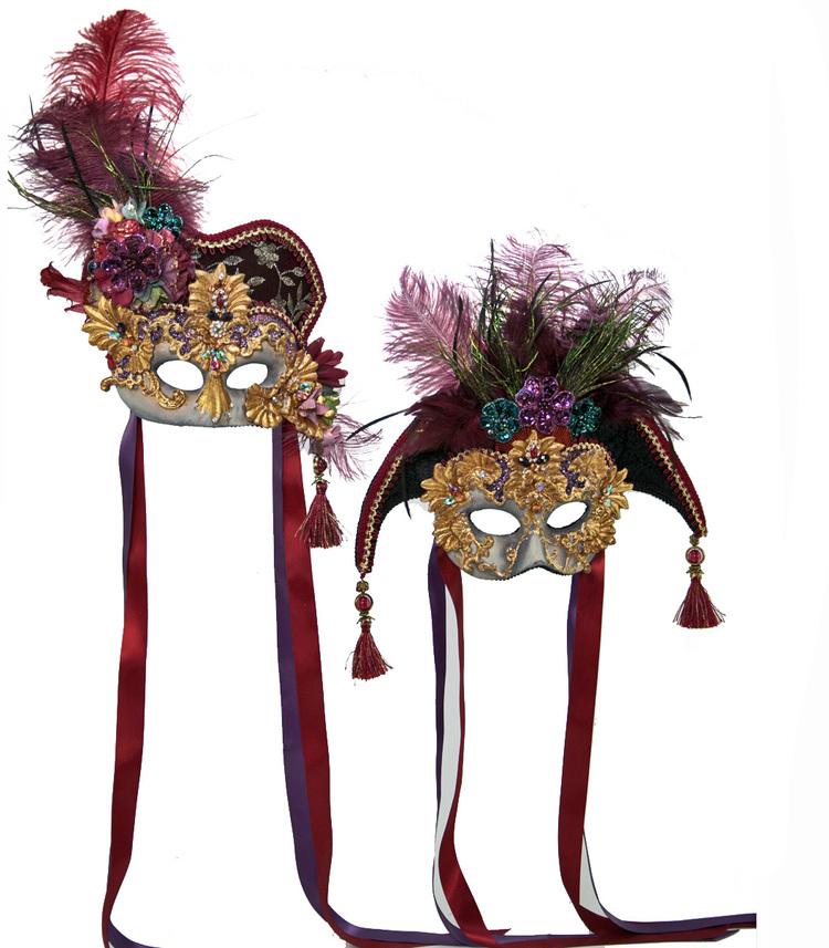 Venetian Couple Mask