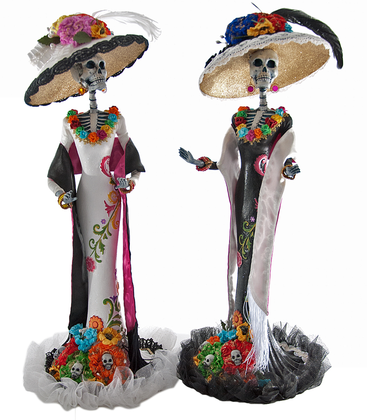 Catrina Figures from   Frida Love