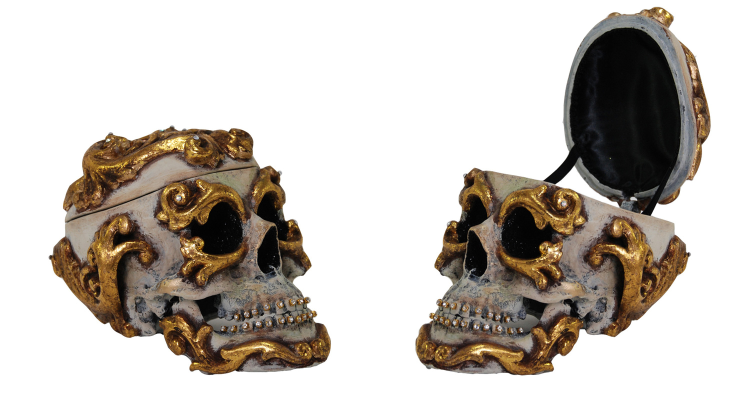 Skull Scroll Box from   Venetian Masquerade