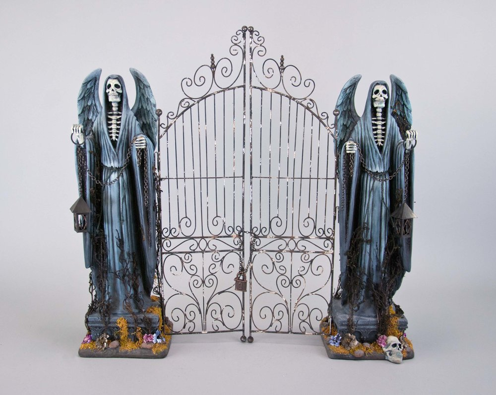 Tabletop Cemetery Gate-26 inch 28-728624