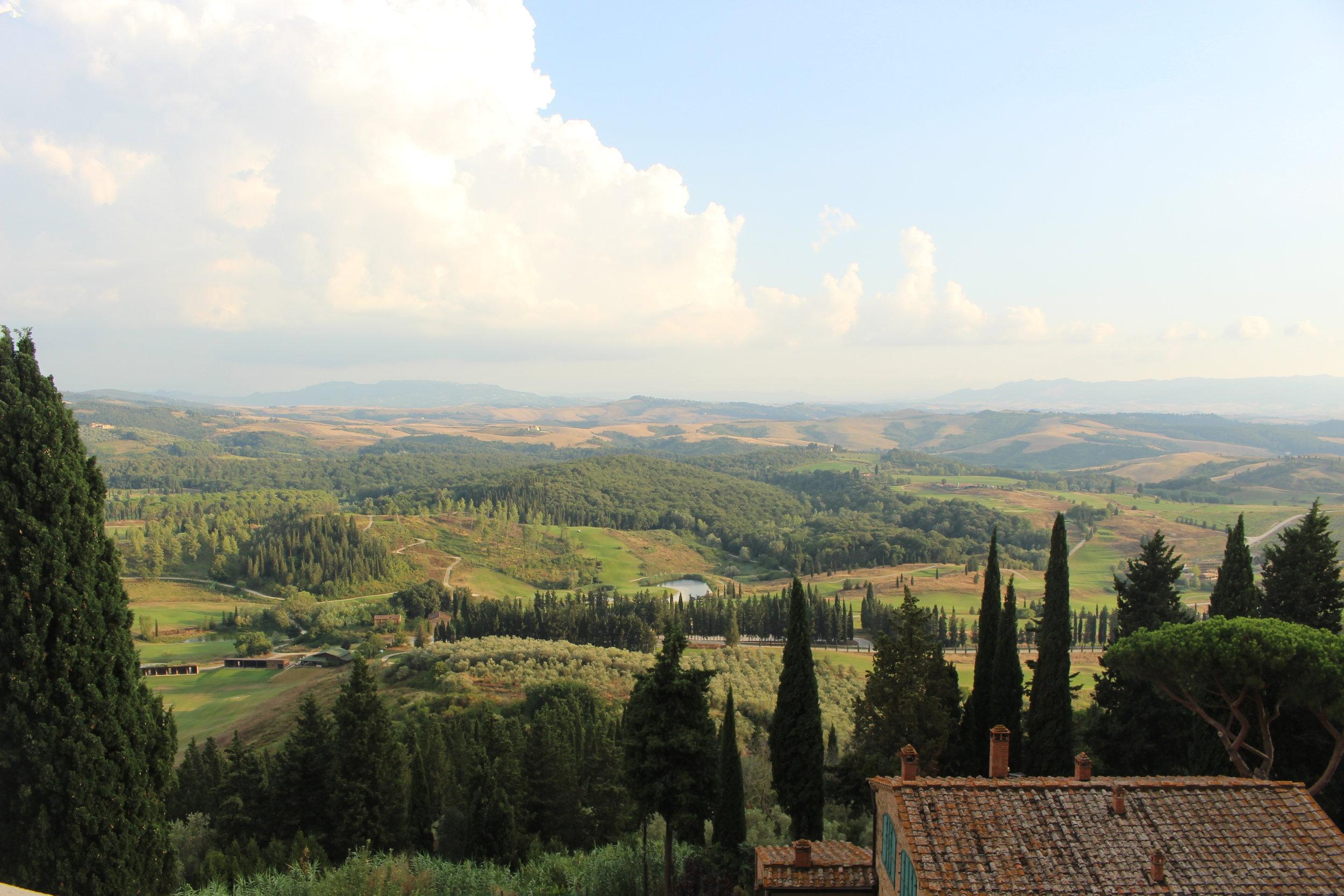 Castelfalfi, tuscany