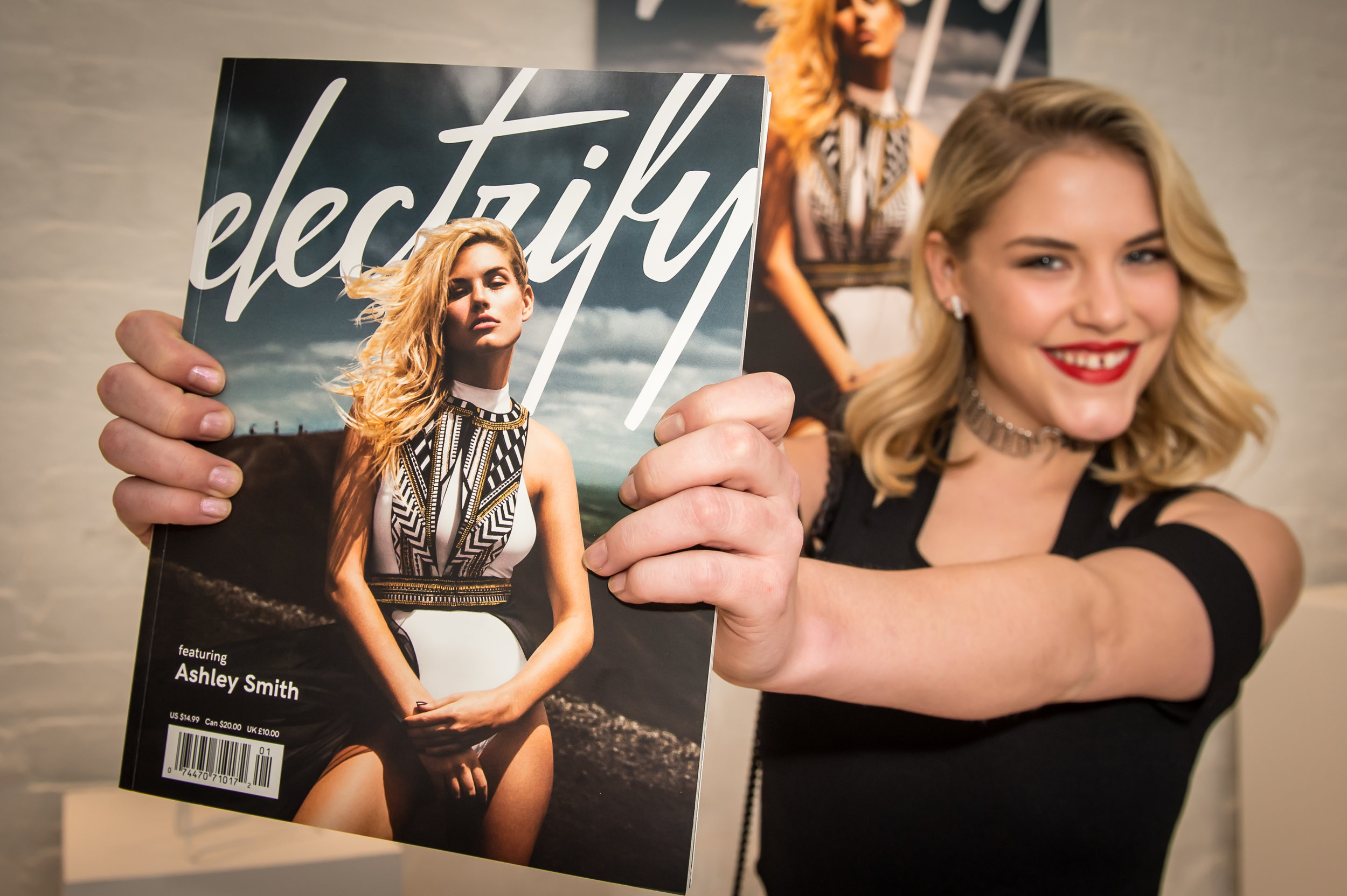 Curiosity Thrives with Ashley Smith - Published in Electrify Magazine VOL 1