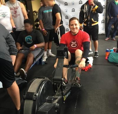 Robert, rowing to Destroy Duchenne