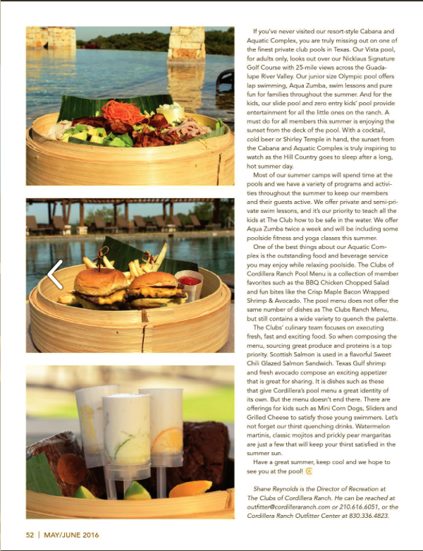 Story in Cordillera Ranch Living May:June issue page 2.png