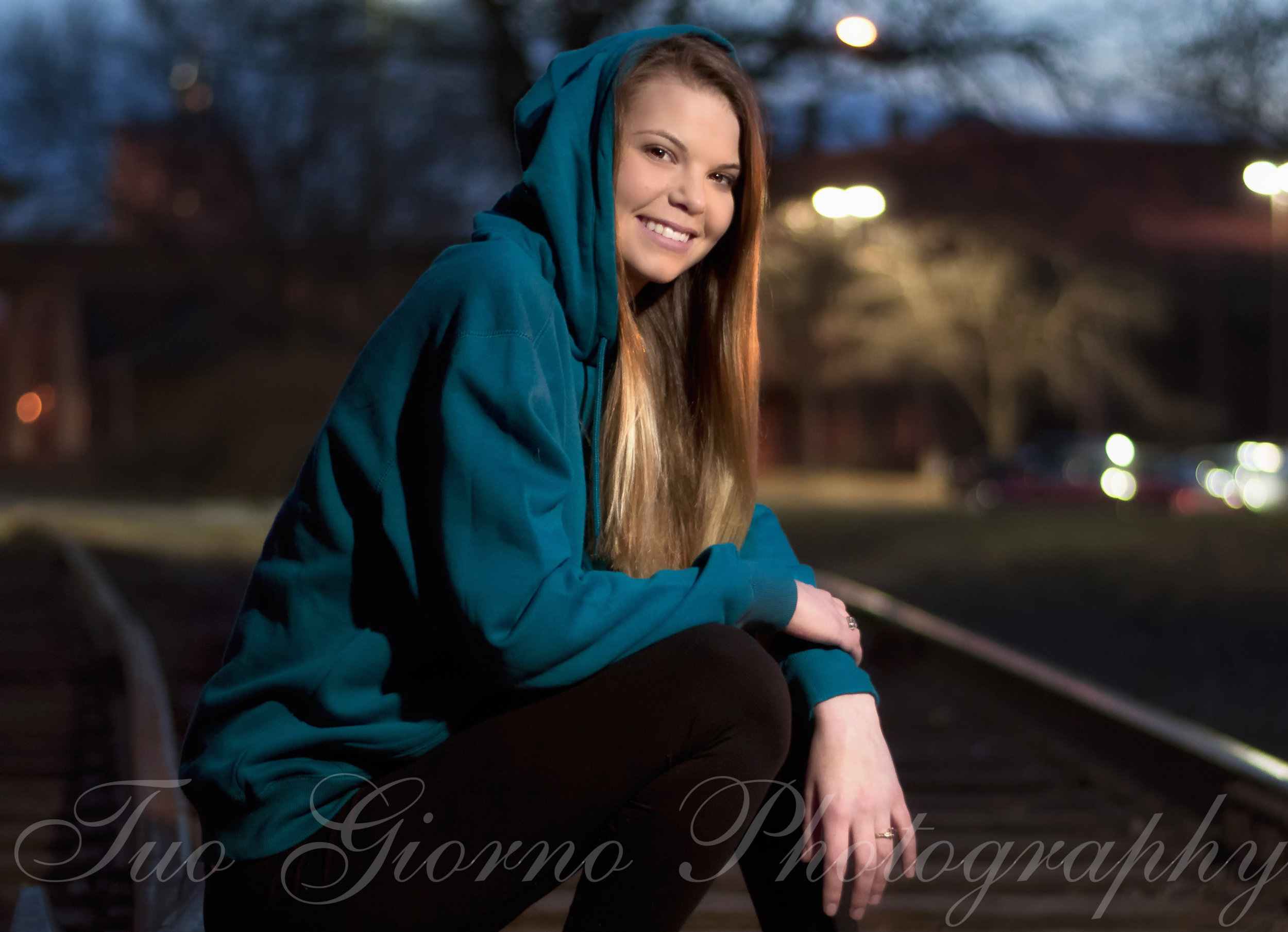 Taken on an inactive railroad track, no worries!