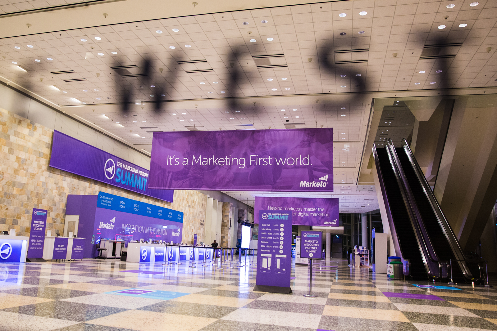 Marketing Nation Summit at Moscone West