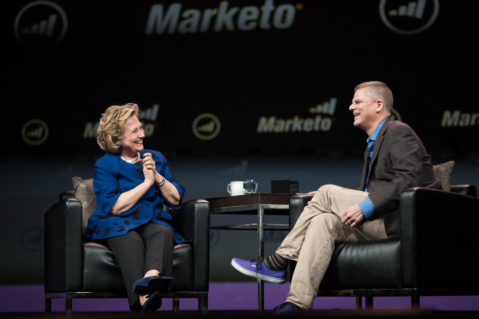 Keynote with Hillary Clinton