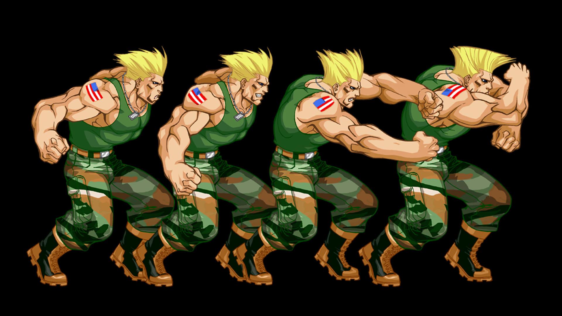 Capcom - Street Fighter - Guile