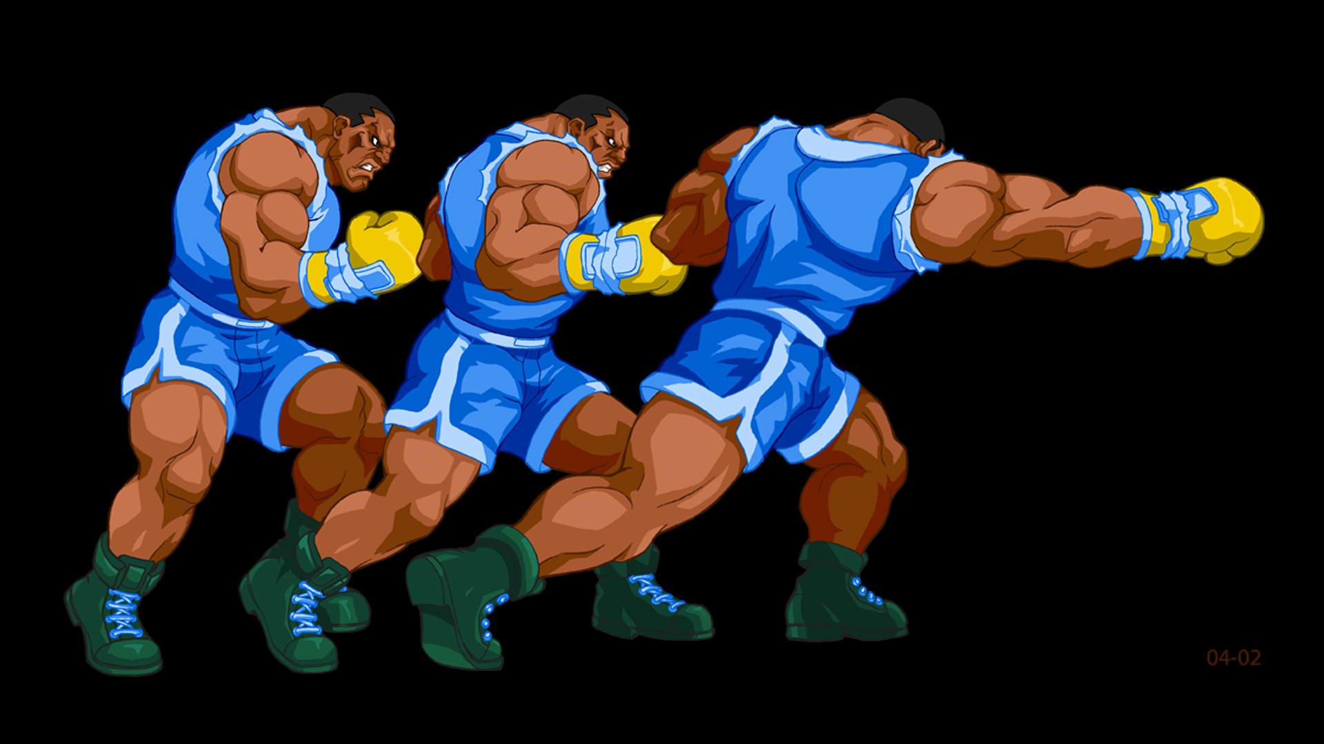 Capcom - Street Fighter -  Balrog