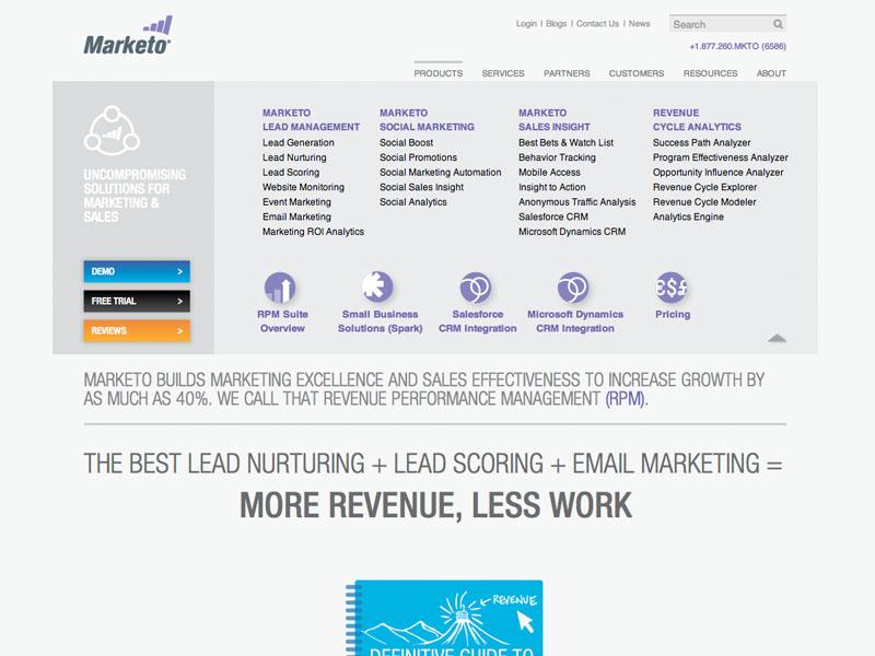 Marketo - Website