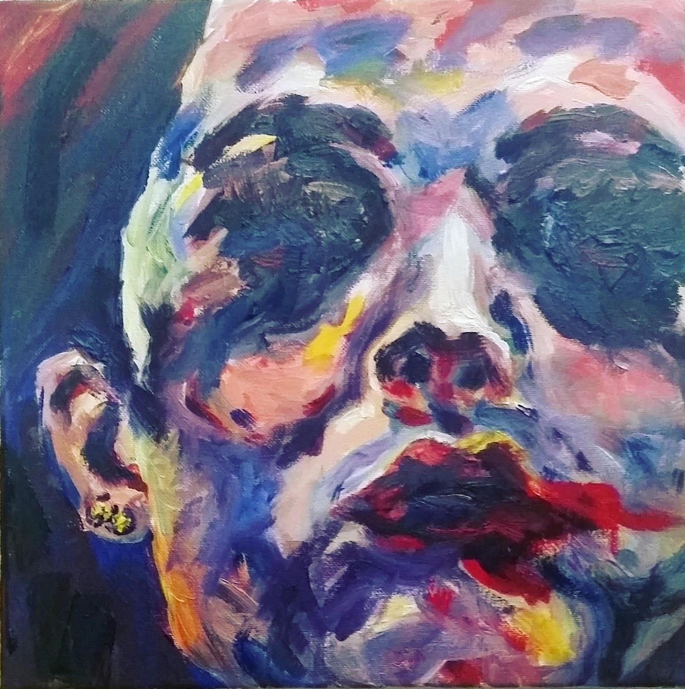 "12x12"", Oil on Canvas"