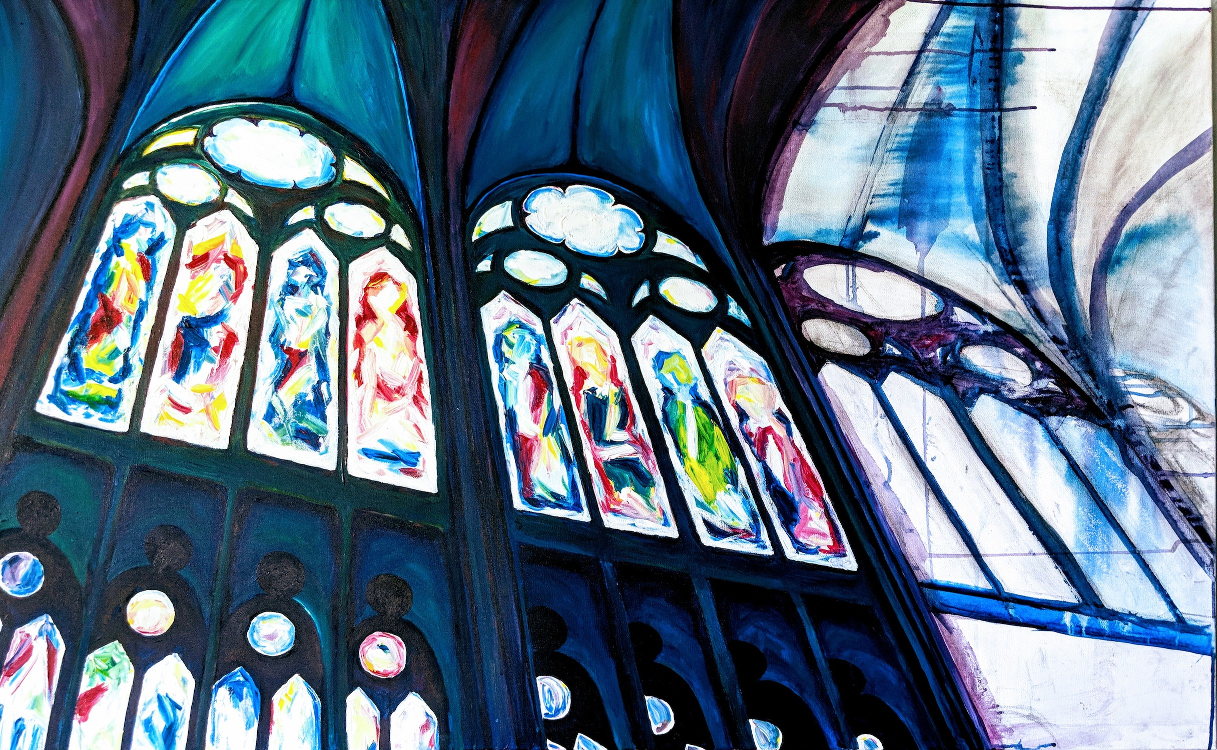 St. Denis Stained Glass