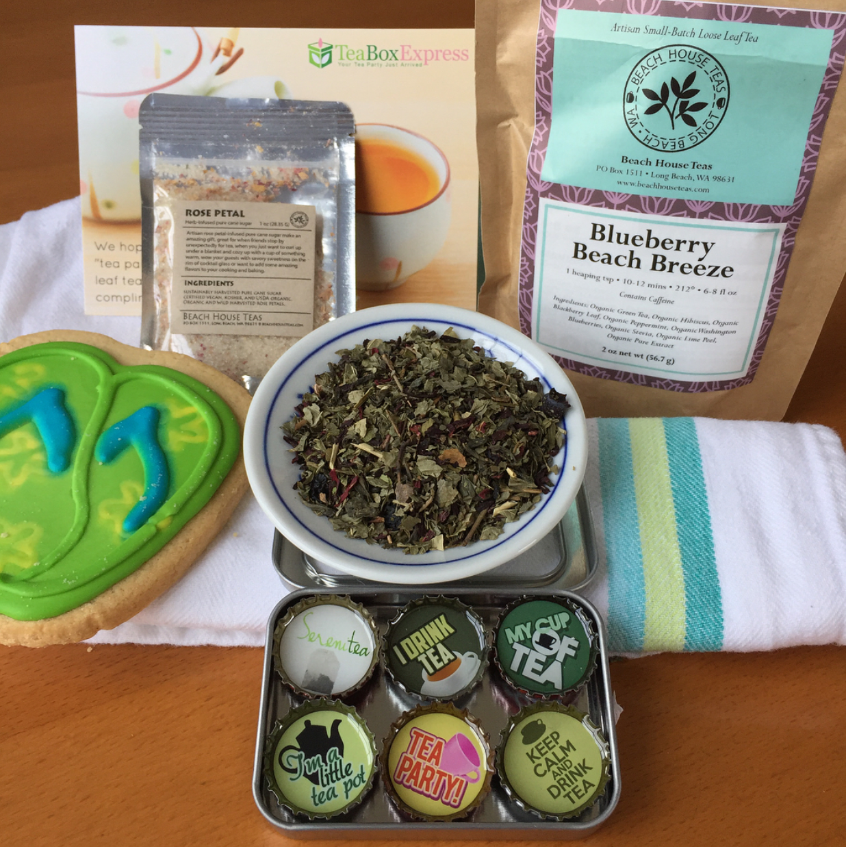 Tea Box Express - July 2017 Monthly Box