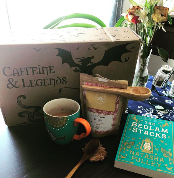Caffeine & Legends - July 2019 Monthly Box