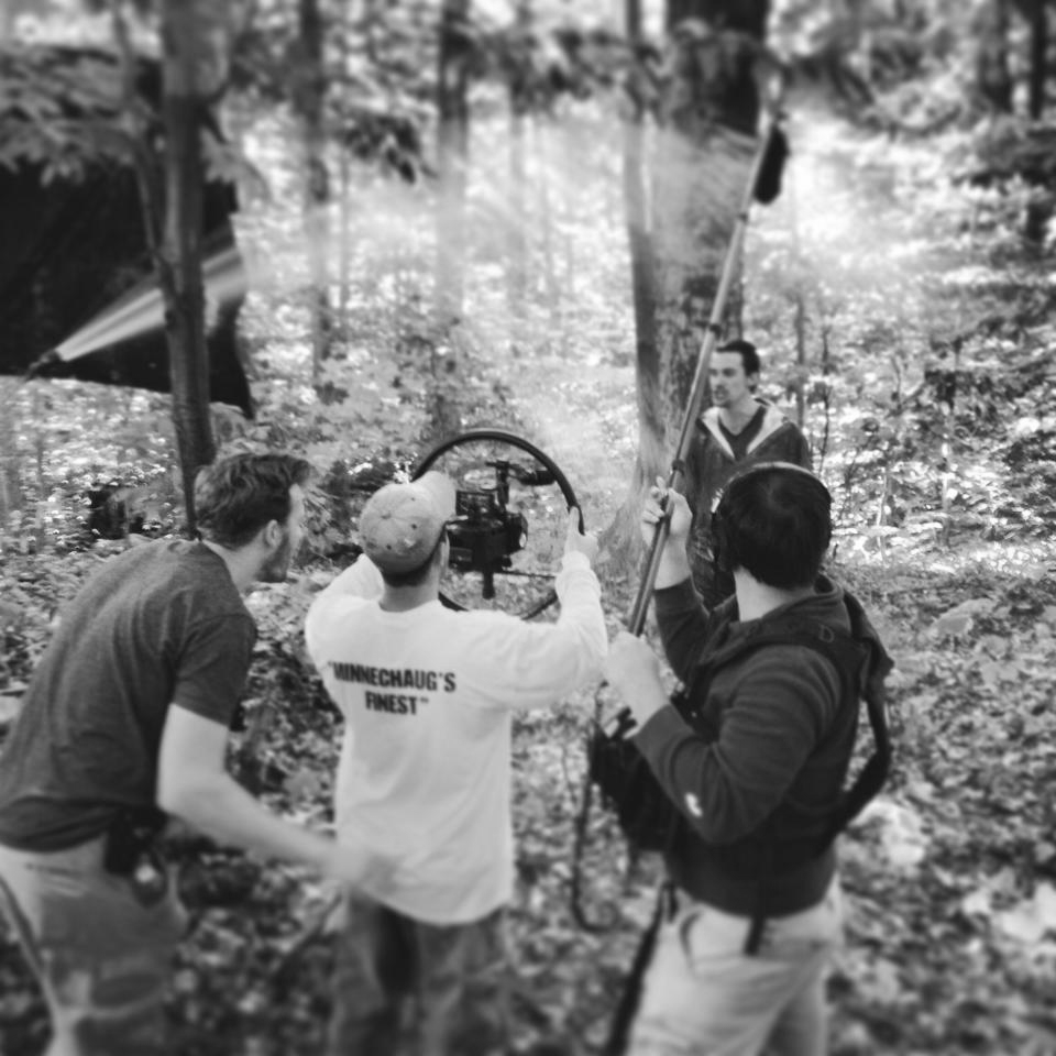 On location in Vermont for  The Answer 's stormy climax.