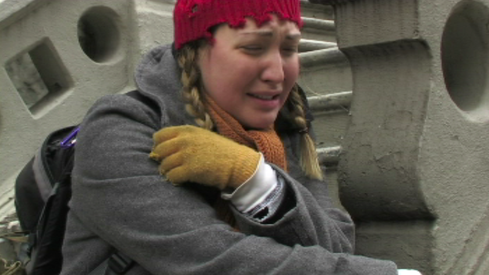 Clarissa distraught