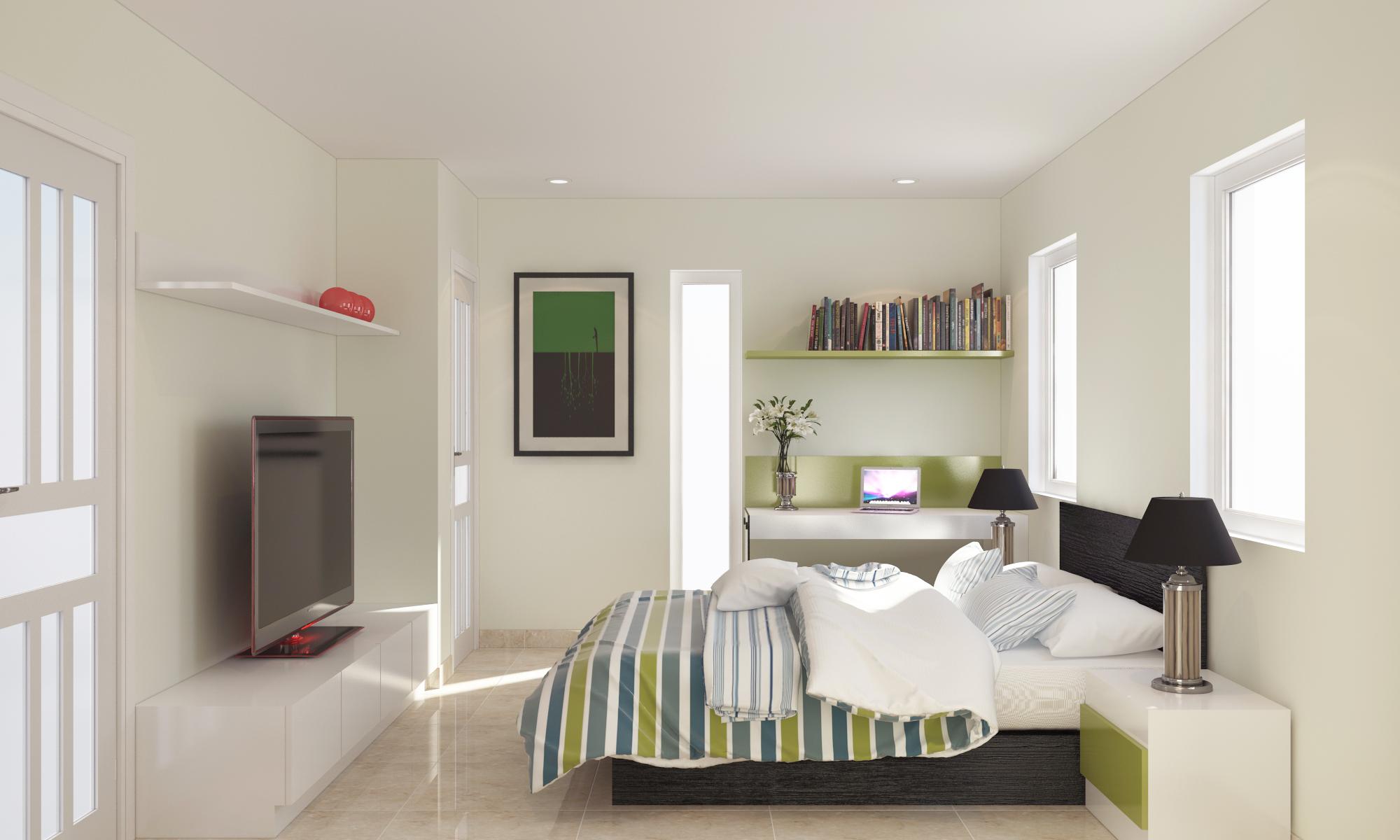Bedroom Mezzanine rear