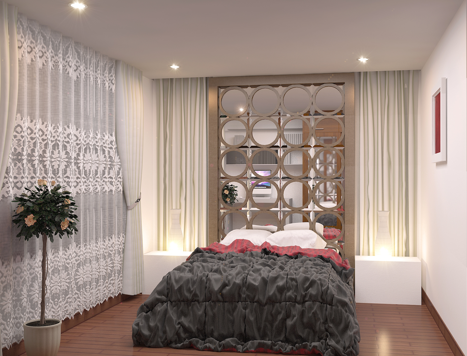 Bedroom Mezzanine Front