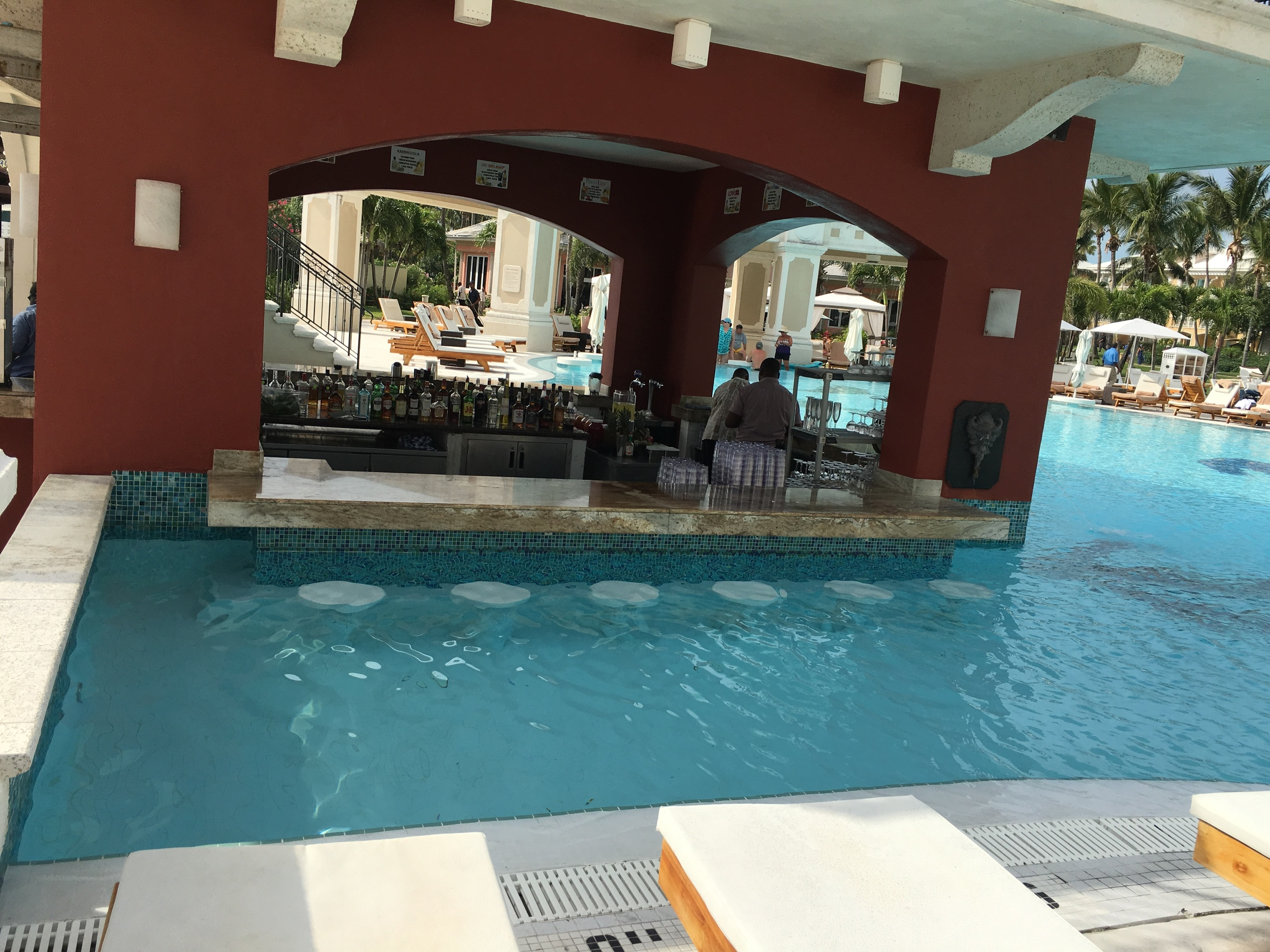 the Swim-up Bar