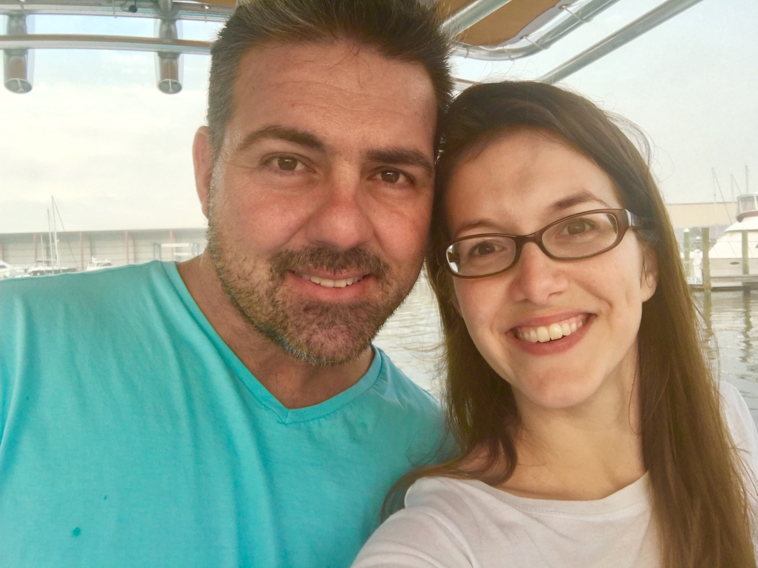 Alessandra Torre and Husband