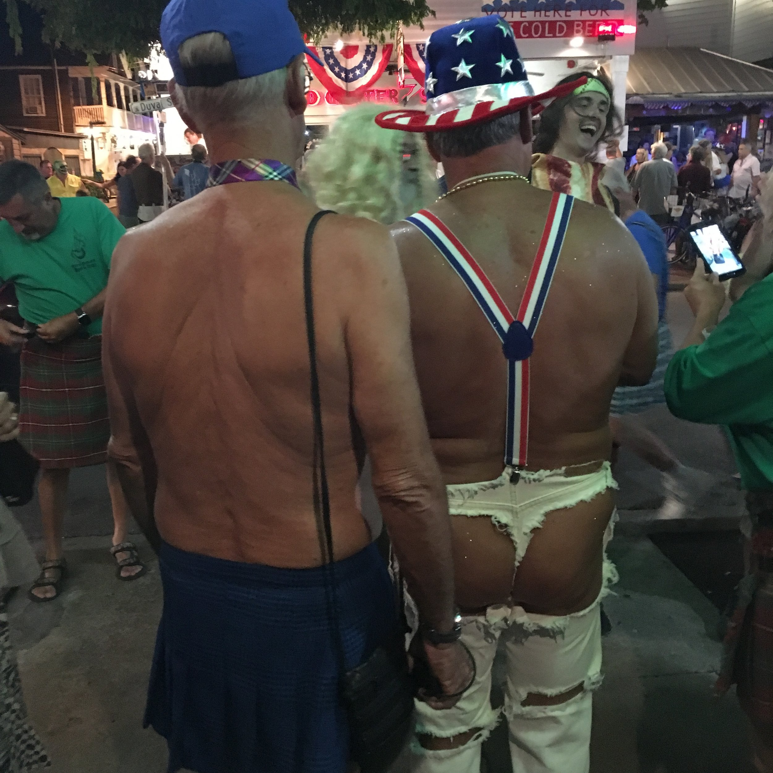 fantasy fest 2016 key west crowd shots pictures body paint nudity