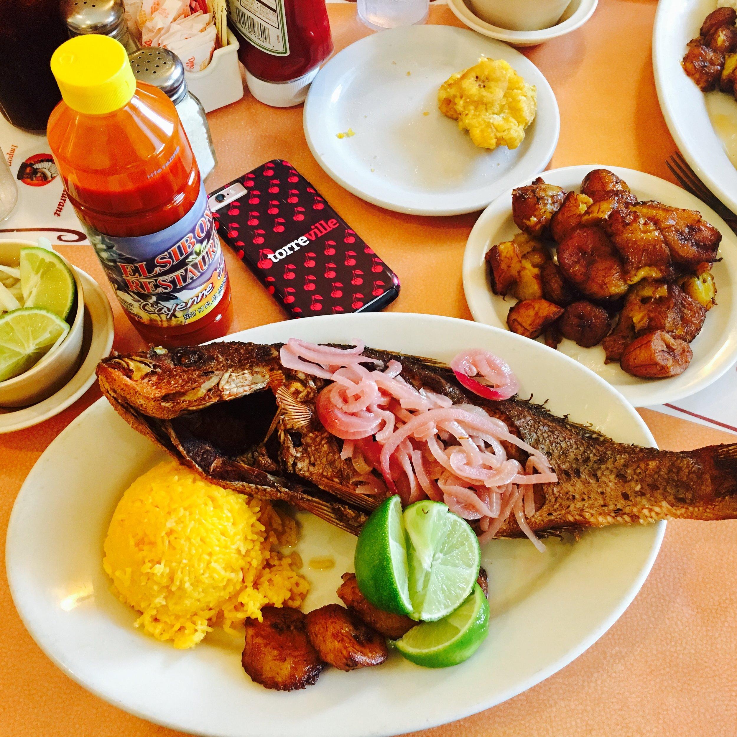 meal - cuban food key west el siboney restaurant