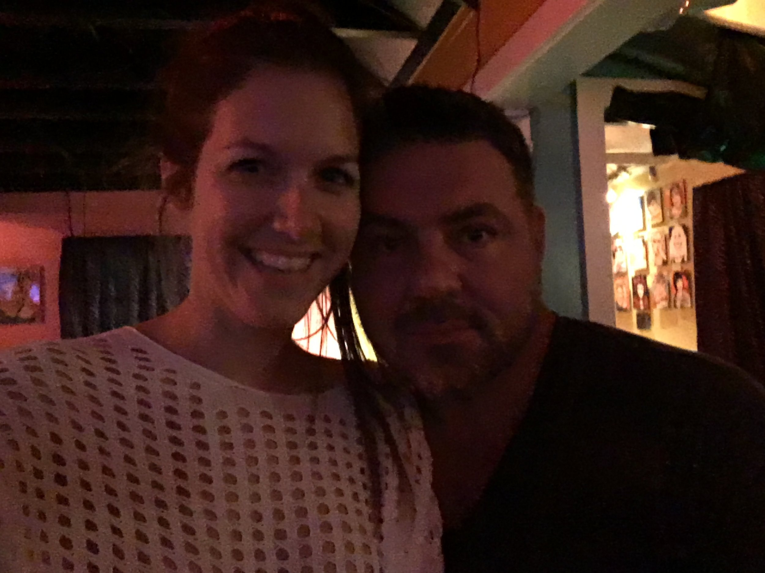 Alessandra Torre and husband - 801 bourbon street key west