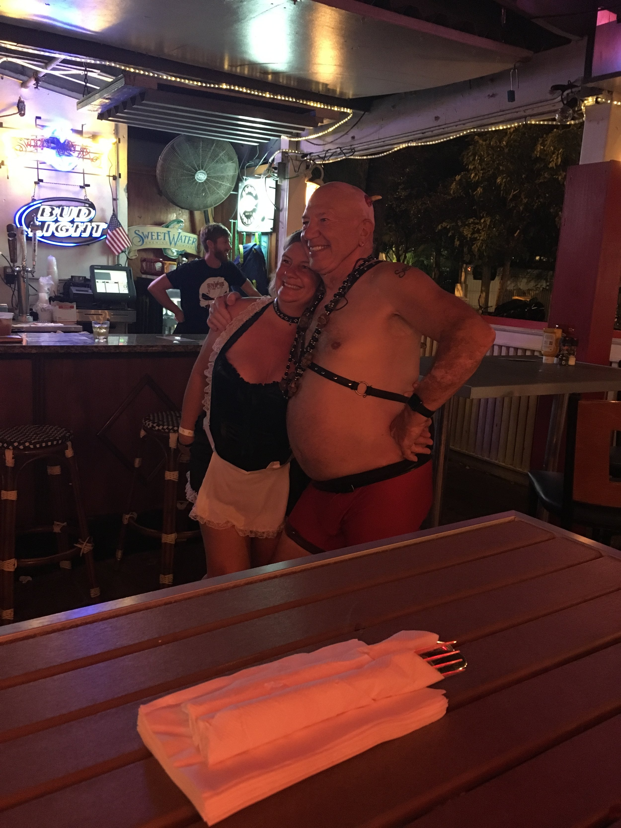 fantasy fest 2016 key west crowd shots pictures BDSM nudity