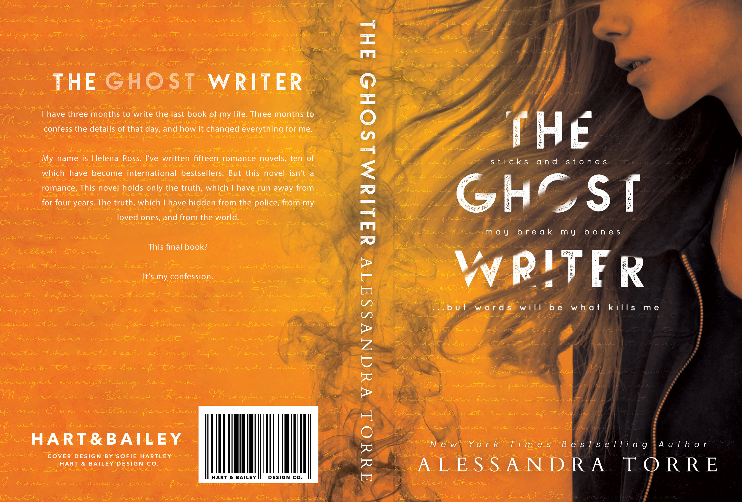 ghostwriter paperback spread