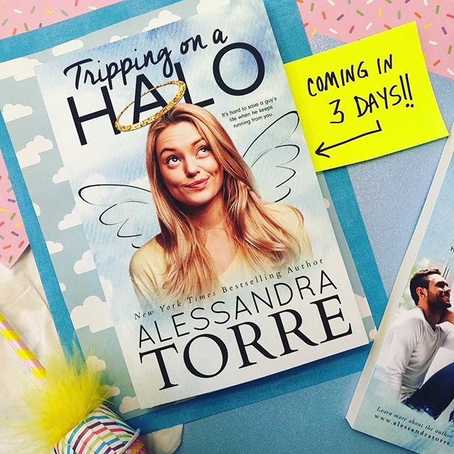 "3 DAYS until Tripping on a Halo arrives! ""If you love to be entertained by a quirky and sassy heroine, witty banter, hilarity-ensuing shenanigans, and a couple that was a match made in heaven, this is the book for you!"" Book Twins Reviews"