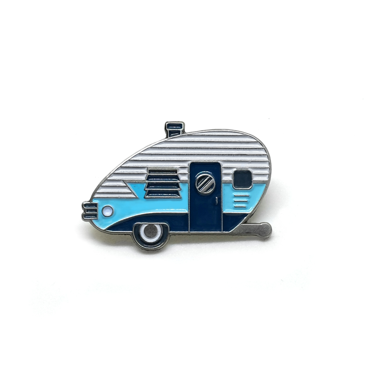 "LLS010-B : Camper (Blue) Soft enamel pin 1.1"" x 0.75"" $4 ETA TBD"