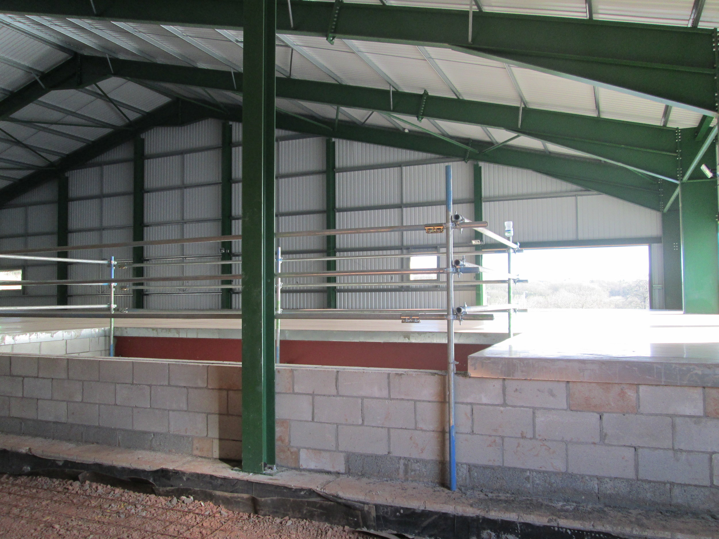 Stairs and lift to be fitted