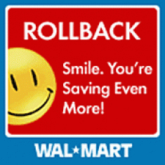 - Walmart 'RollBack' Pricing Scam