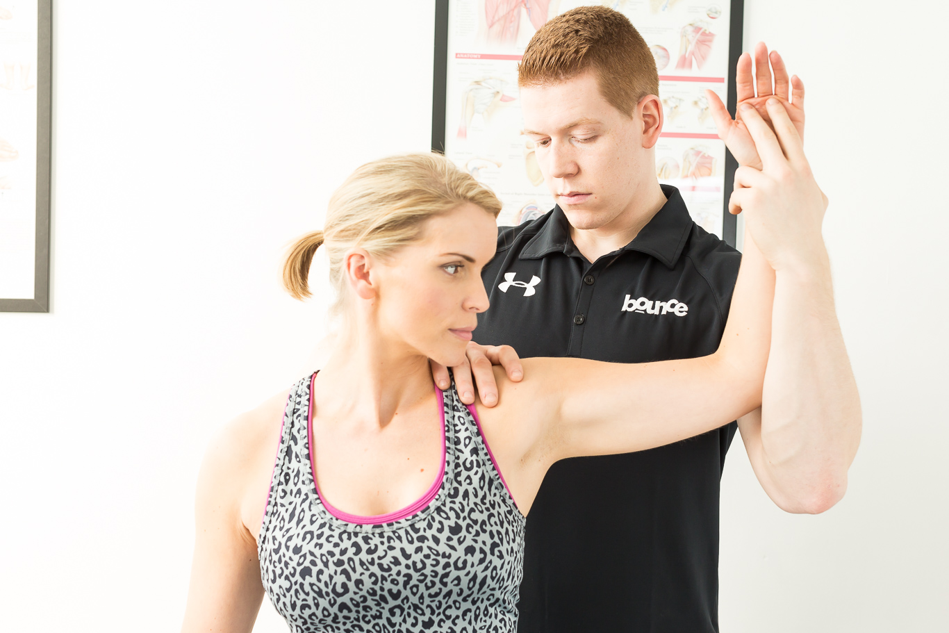 We believe that everybody should have the opportunity to access the highest quality of treatment and practitioners. All of our clinicians are currently or have previously been involved in professional sports teams and hold considerable experience of treating elite athletes. Whilst working closely with such individuals, at Bounce the same dynamic and integrated approach is taken to benefit everyone, from the professional sportsperson to the non-exercising individual.