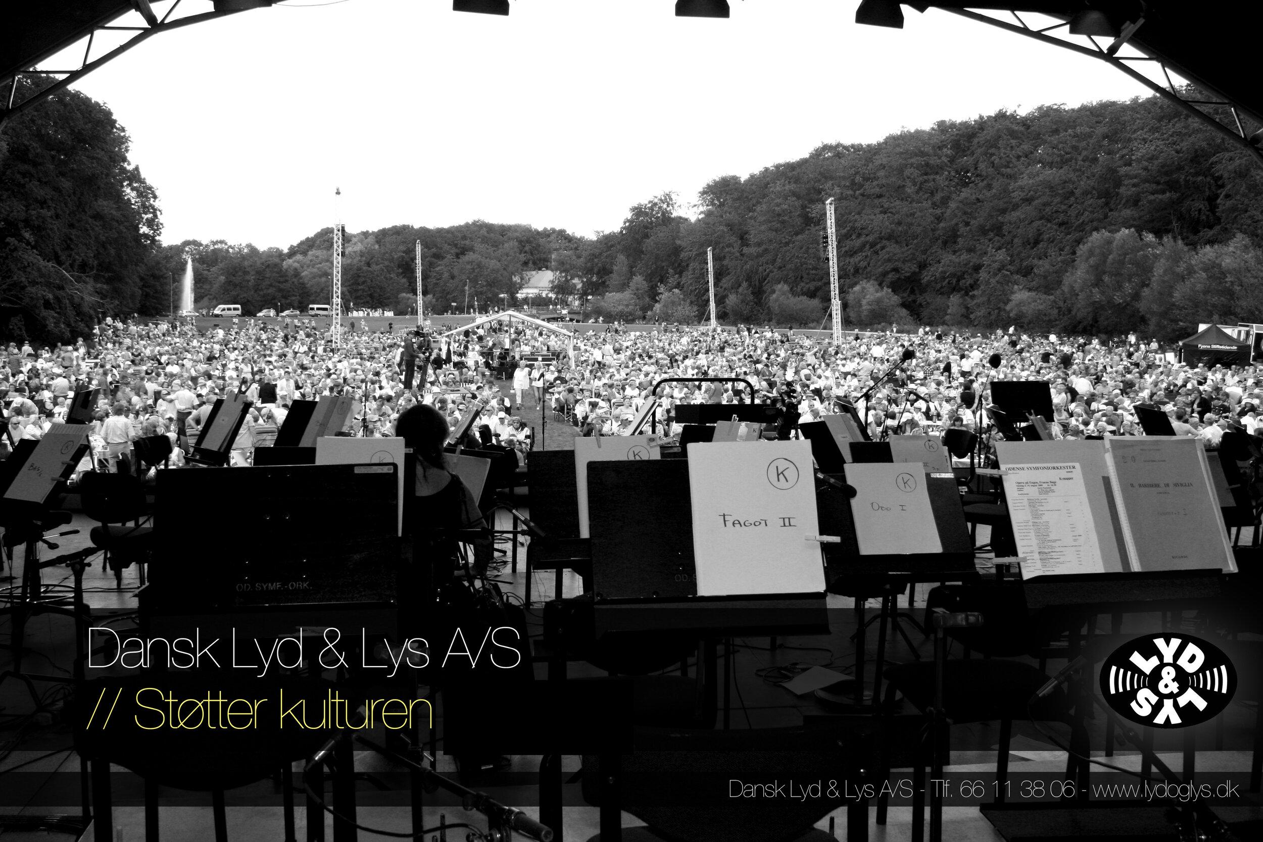 """Klassisk orkester """"Vi støtter…"""" -"""