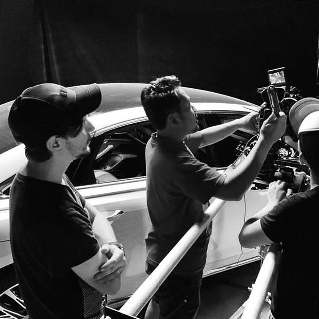 BTS shot of the Audi Video #lucasmilone #dop #dp #work #bts #anuestudios