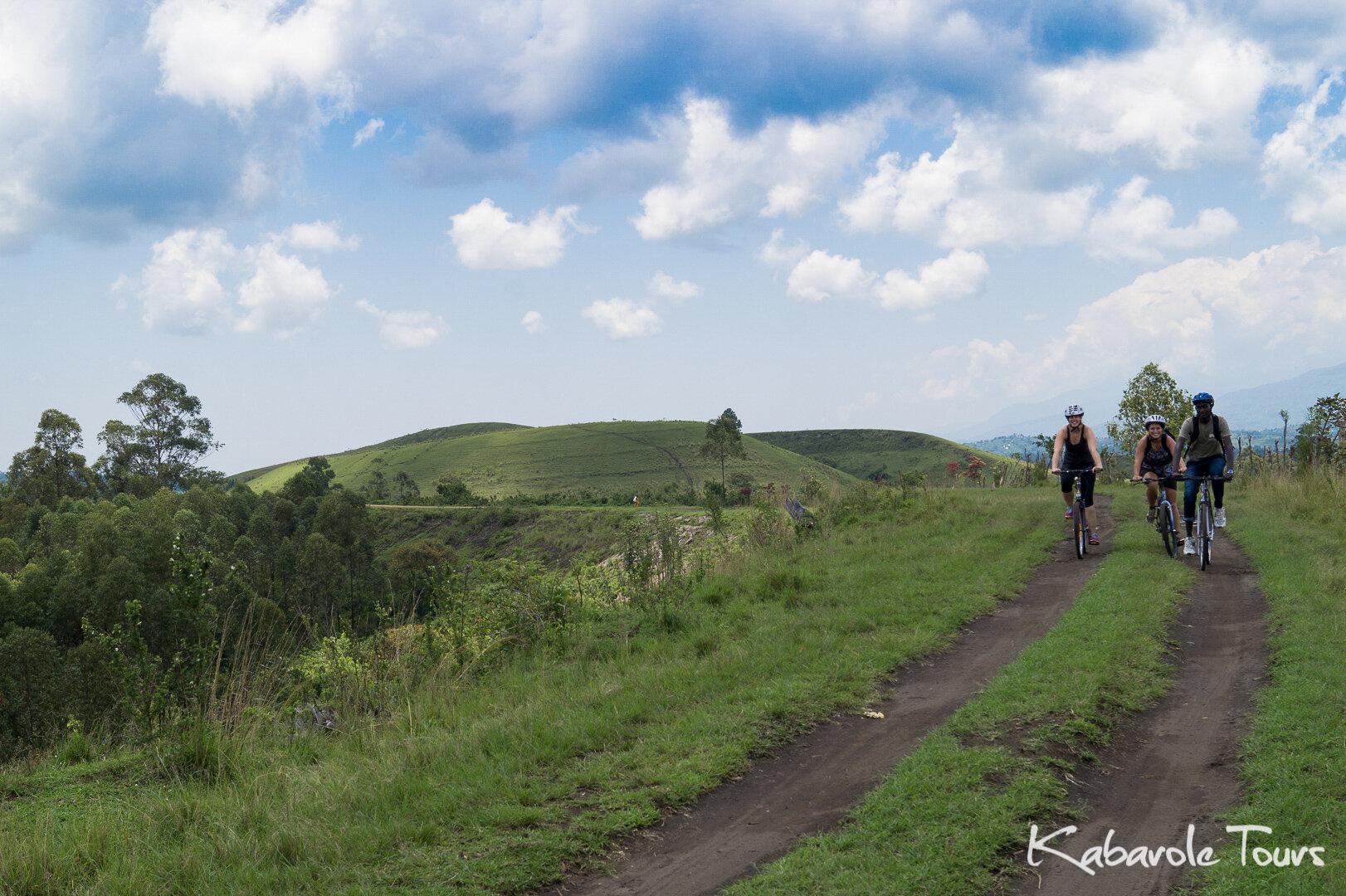 Kasenda Crater Lake Biking Tour